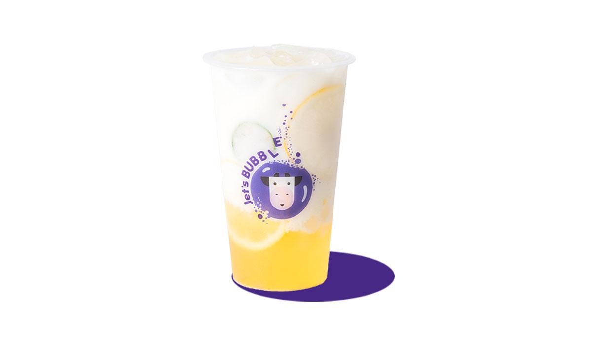 檬檬酸奶苏打