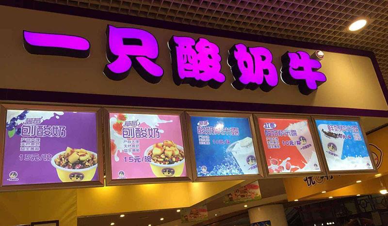 湖北武汉一只酸奶牛加盟店